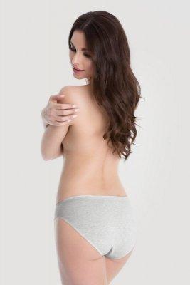 Julimex Cotton Hi-cut Szare figi
