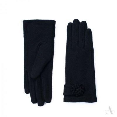 Art of Polo Armidale Czarne rękawiczki