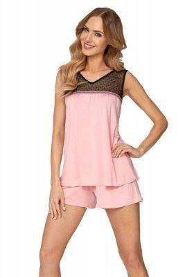 Babella Codi Róż Peony piżama damska