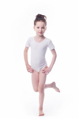 Shepa Body gimnastyczne lycra (B7) krótki rękaw