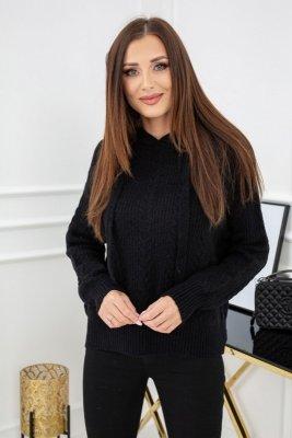 Vittoria Ventini Luella Black SC128 sweter damski