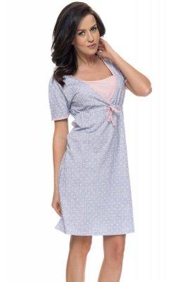 Dn-nightwear TCB.4044 damska koszula nocna