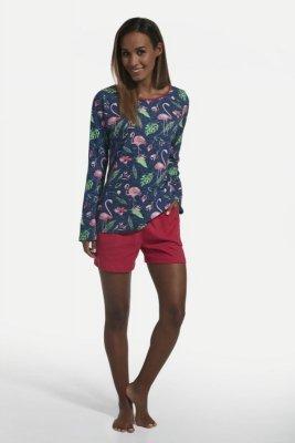 Cornette 159/202 flamingo 4 jeans piżama damska
