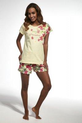 Cornette 341/137 paradise żółty piżama damska