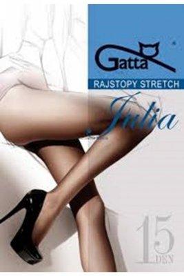 Gatta julia stretch 15 den grigio rajstopy