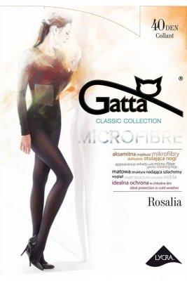Gatta rosalia microfibre 40 den smeraldo rajstopy