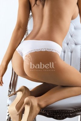 Babell bbl 052 biały stringi