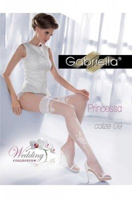 Gabriella 193 princessa 09 bianco pończochy