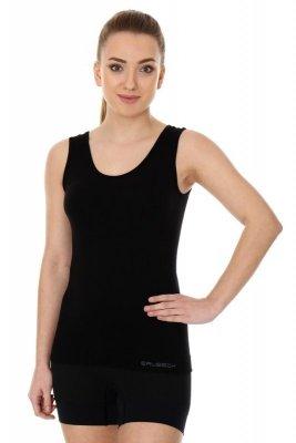Brubeck bezrękawnik damski ta 00510A czarny koszulka