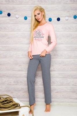 Taro Sylwia 259 różowy piżama damska