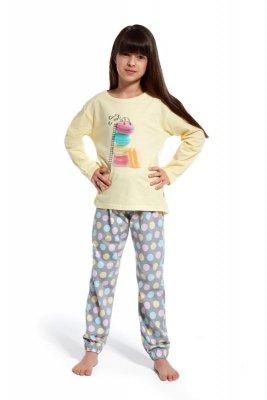 Cornette 973/83 Time ro re young żółty piżama dziewczęca