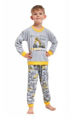 Cornette 593/57 Machine kids szary piżama chłopięca