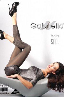 Gabriella 135 microfibra sindy 3/4 nero legginsy