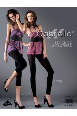 Gabriella 138 microfibra short kivi legginsy