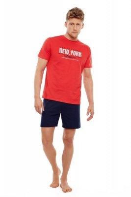 Henderson 35734 33x czerwony piżama męska