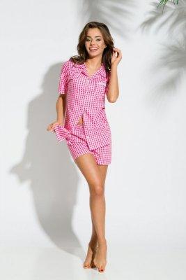 Taro 2154 Amy 01 czaerwony piżama damska