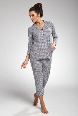 Cornette 603/178 Sharon grafitowy piżama damska