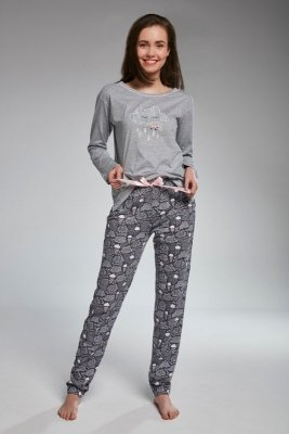 Cornette F&Y girl 299/32 cloud melanż piżama damska