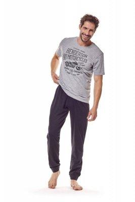 Henderson 36204 90x szary piżama męska