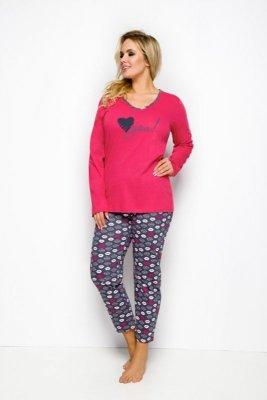 Taro Lena 146 czerwony piżama damska
