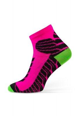 Sesto Senso Sport Socks różowe Skarpety