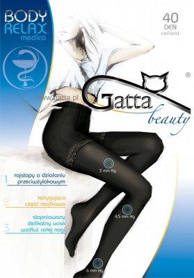 Gatta Body Relax Medica 40 den 5-XL rajstopy