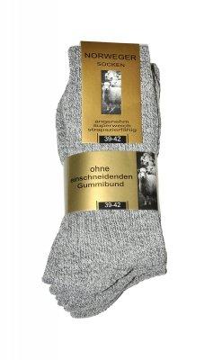 WiK Norweger Wolle art.20110 A'3 skarpetki