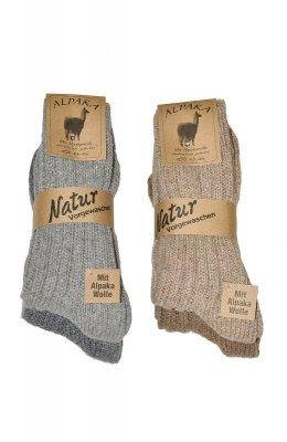 Wik Alpaka Wolle 20900 A'2 skarpetki