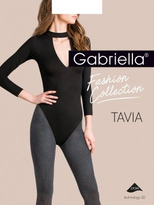 Gabriella Tavia 3D 444 5XL rajstopy