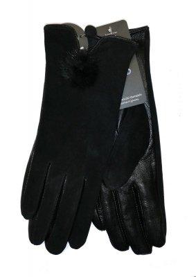 YO! R-149 Skóra Zamsz rękawiczki
