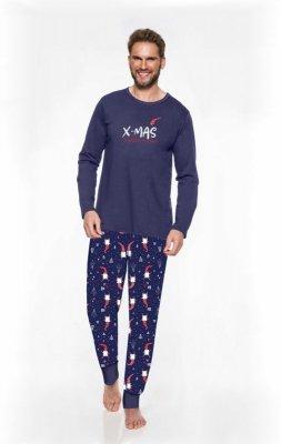 Taro Świąteczna 2358 piżama męska