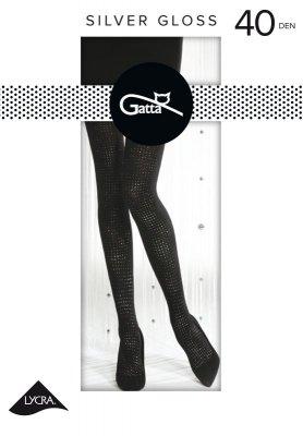 Gatta Silver Gloss nr 02 40 den rajstopy
