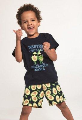 Cornette Young Boy 790/84 Avocado 2 134-164 piżama chłopięca