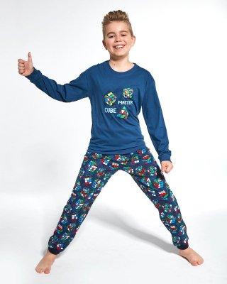 Cornette Kids Boy 593/102 Cube Master 86-128 piżama chłopięca