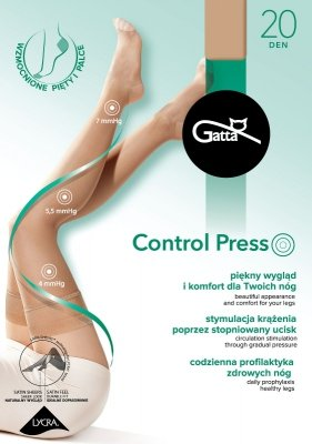 Gatta Control Press 20 den pończochy damskie