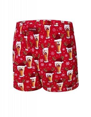 Cornette 016/13 Beer 5 Merry Christmas szorty męskie