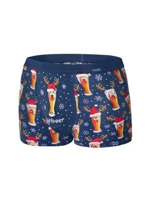 Cornette 007/53 Beer Merry Christmas bokserki męskie