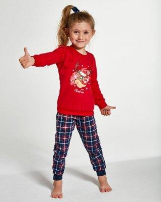 Cornette Young Girl 592/130 Reindeer 134-164 piżama dziewczęca