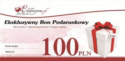 Ekskluzywny Bon Podarunkowy 100 PLN