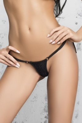 Me Seduce Ipanema Black Stringi