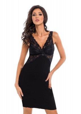 Donna Irina czarna Koszula nocna