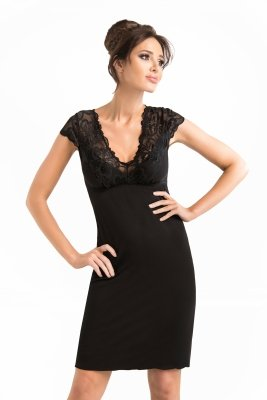 Donna Romina czarna Koszula nocna