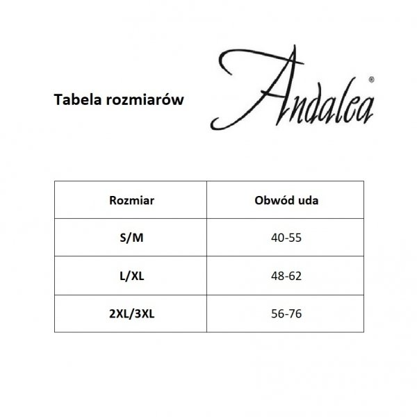 Andalea PW/003/004 Podwiązka