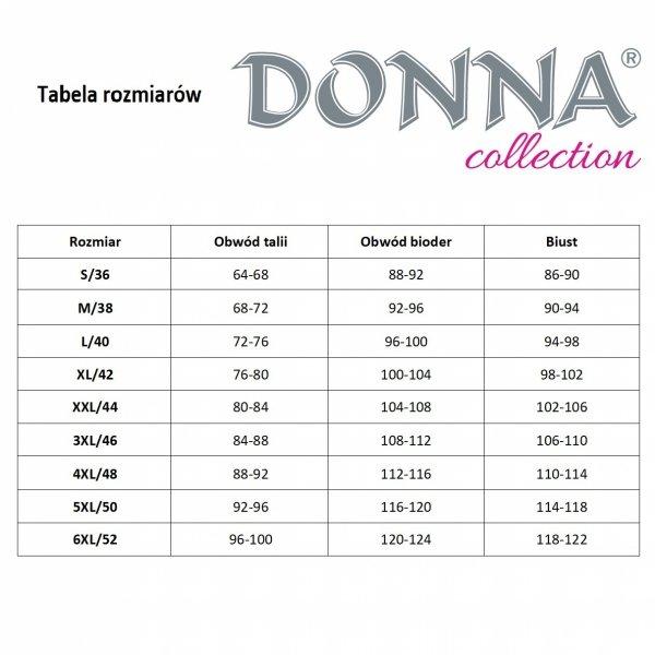 Donna Clara 1/2 granatowa Piżama damska