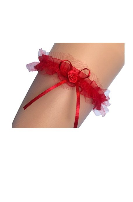 Enjoy Luiza czerwona Podwiązka