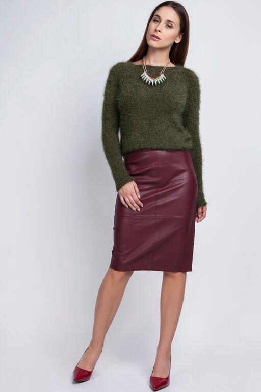 MKM Monique SWE 058 zielony Sweter