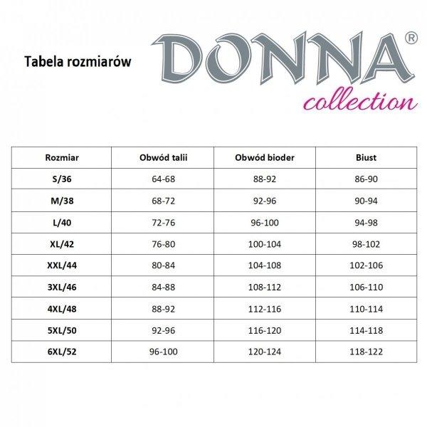 Donna Tess granatowy Szlafrok damski Size Plus