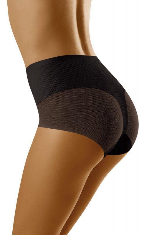Wol-Bar Sentima Czarne figi damskie modelujące