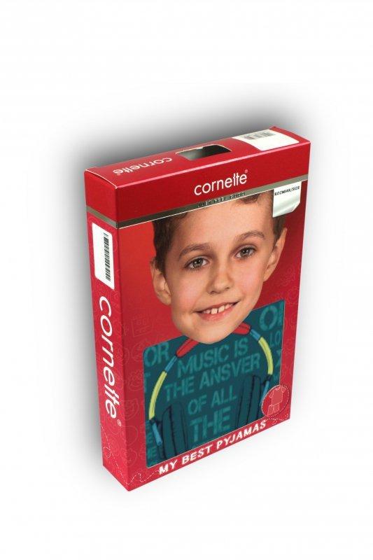 Cornette 267/121 Music marine piżama chłopięca