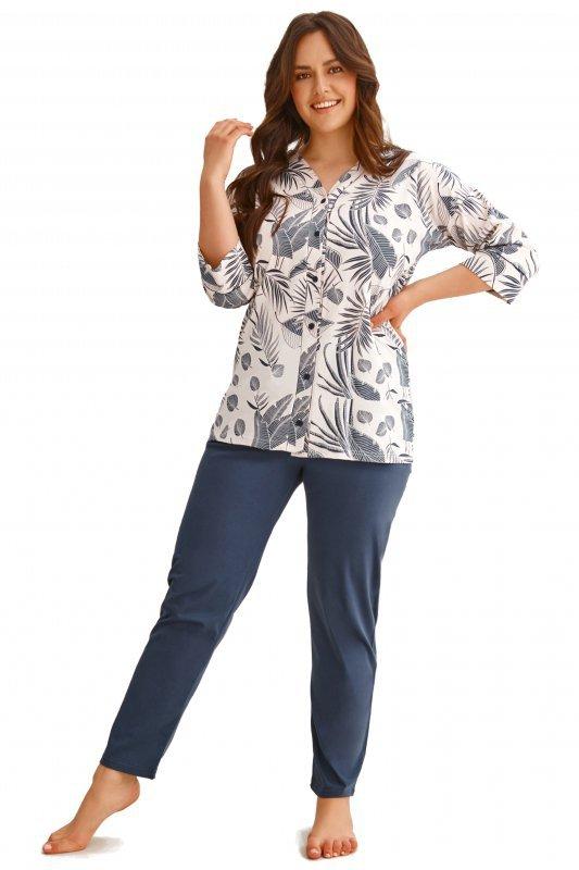 Taro 2613 Megan beżowa piżama damska